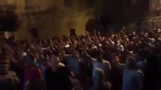 سوف نبقى هنا بصوت اهل القدس 👌 ❤💛💙
