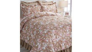 Cottage Pintuck 100% Cotton 6pc Comforter Set