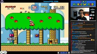 Super Mario World прохождение | Игра на (SNES, 16 bit) Nintendo 1990 Стрим RUS