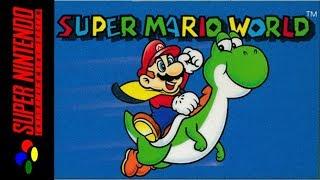 Super Mario World прохождение   Игра на (SNES, 16 bit) Nintendo 1990 Стрим RUS