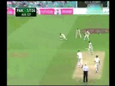 Faisal Iqbal Pak vs Australia 2010 series