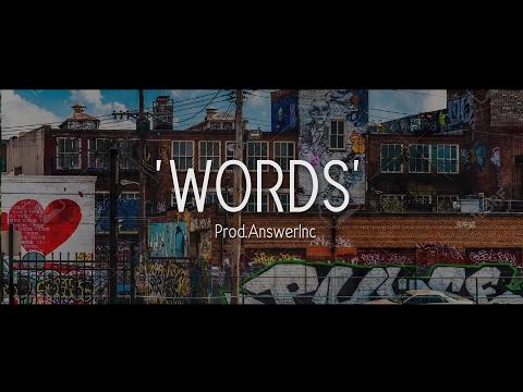 Words - Rap Beat / Hip Hop Instrumental (Prod. AnswerInc )