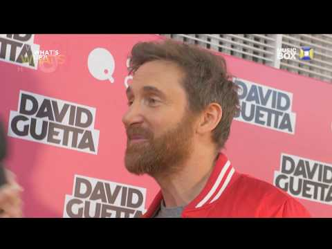 DAVID GUETTA interview  - Kiev, Ukraine, 28.01.2018