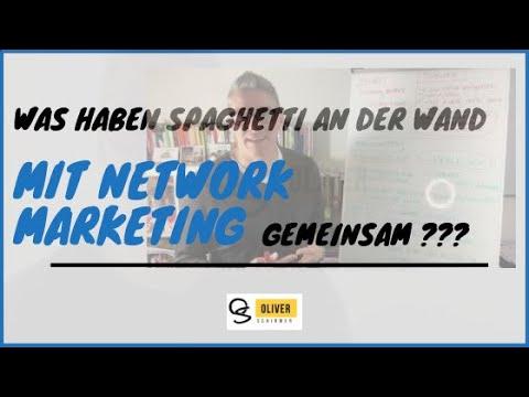 Network Marketing und Spaghetti an der Wand