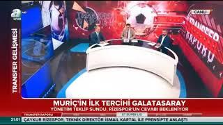 Transfer Hattı A Spor-Vedat Muriqi Galatasaray'da