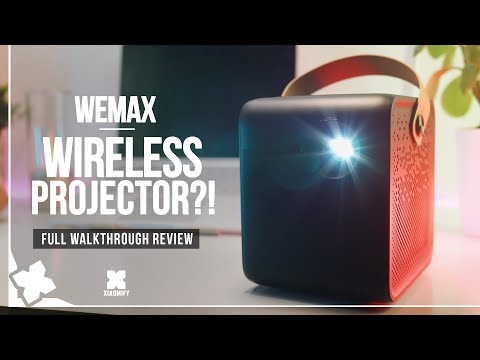 Wemax WIRELESS projector - Full Review M055FCN [Xiaomify]