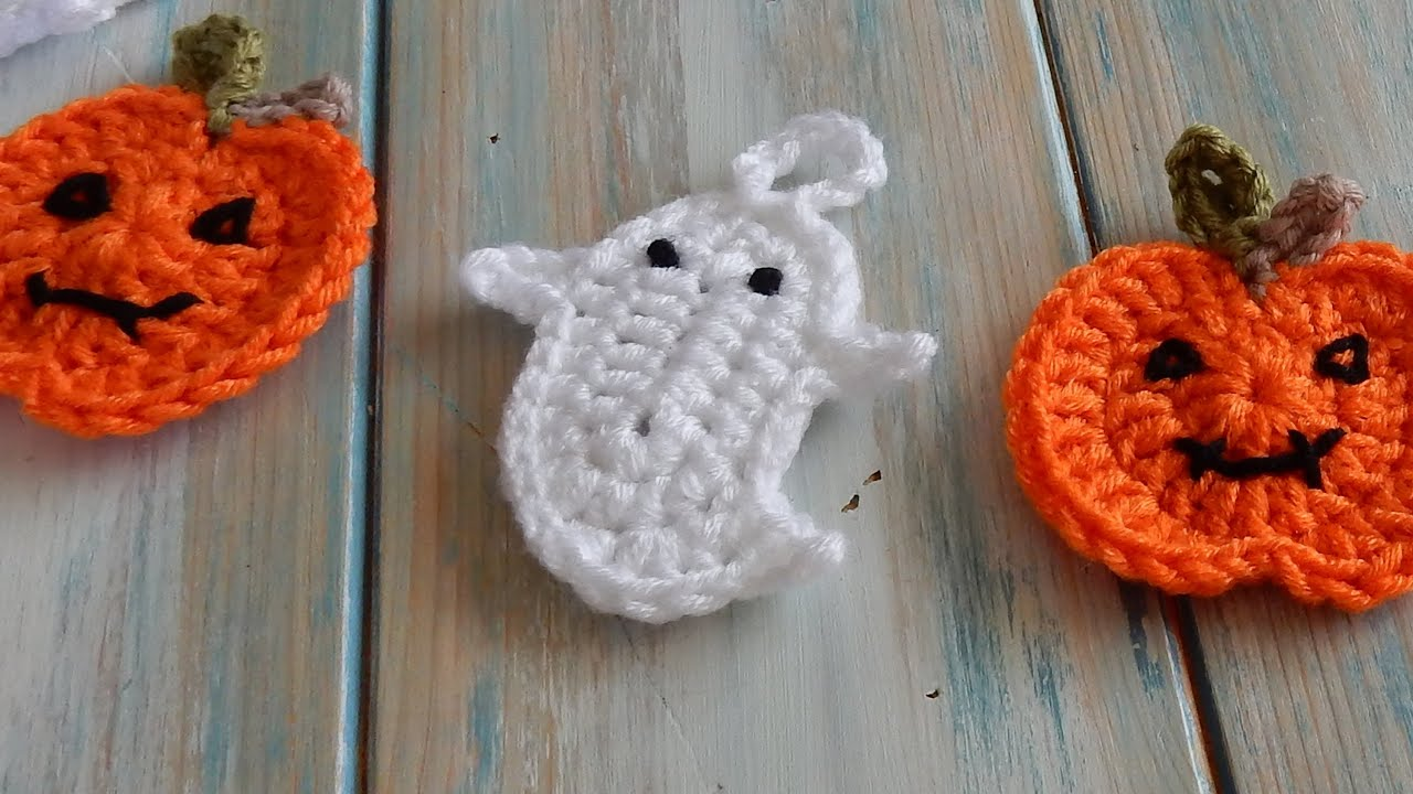 how to crochet a ghost for bunting youtube. Black Bedroom Furniture Sets. Home Design Ideas