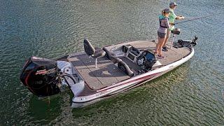 Triton 19 TRX Fiberglass Bass Boat