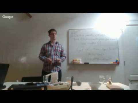 [Webcam Livestream] Bitcoin Workshop afternoon with Peter Todd