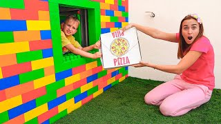 Vlad and Niki Pizza challenge for Mom