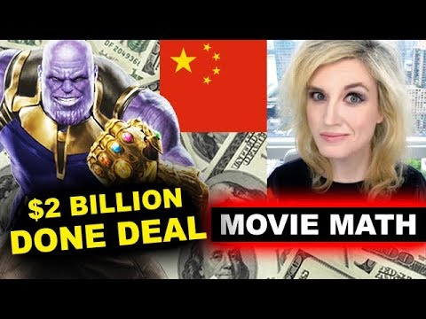 Box Office Infinity War China Opening Weekend
