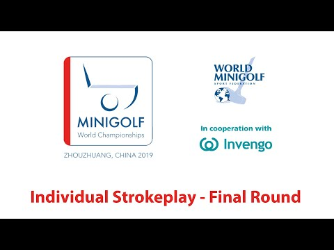 [Full Replay] WMF World Championships 2019 - Individual Strokeplay - Final Round