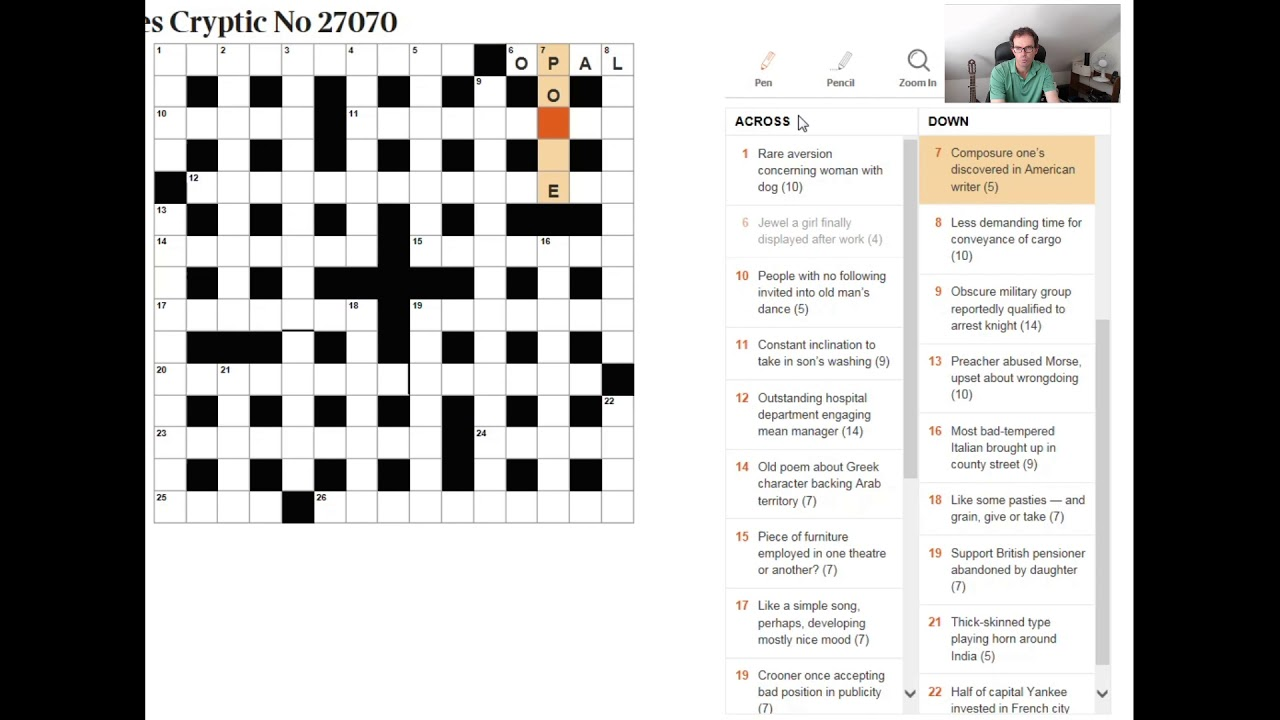 recipe: have a wash crossword clue [26]