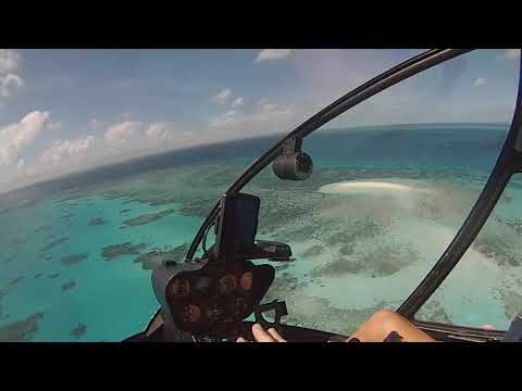 Great Barrier Reef Helicopter Flight from Cairns