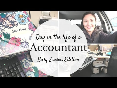 Day in the life of an Accountant | Busy Season Edition |