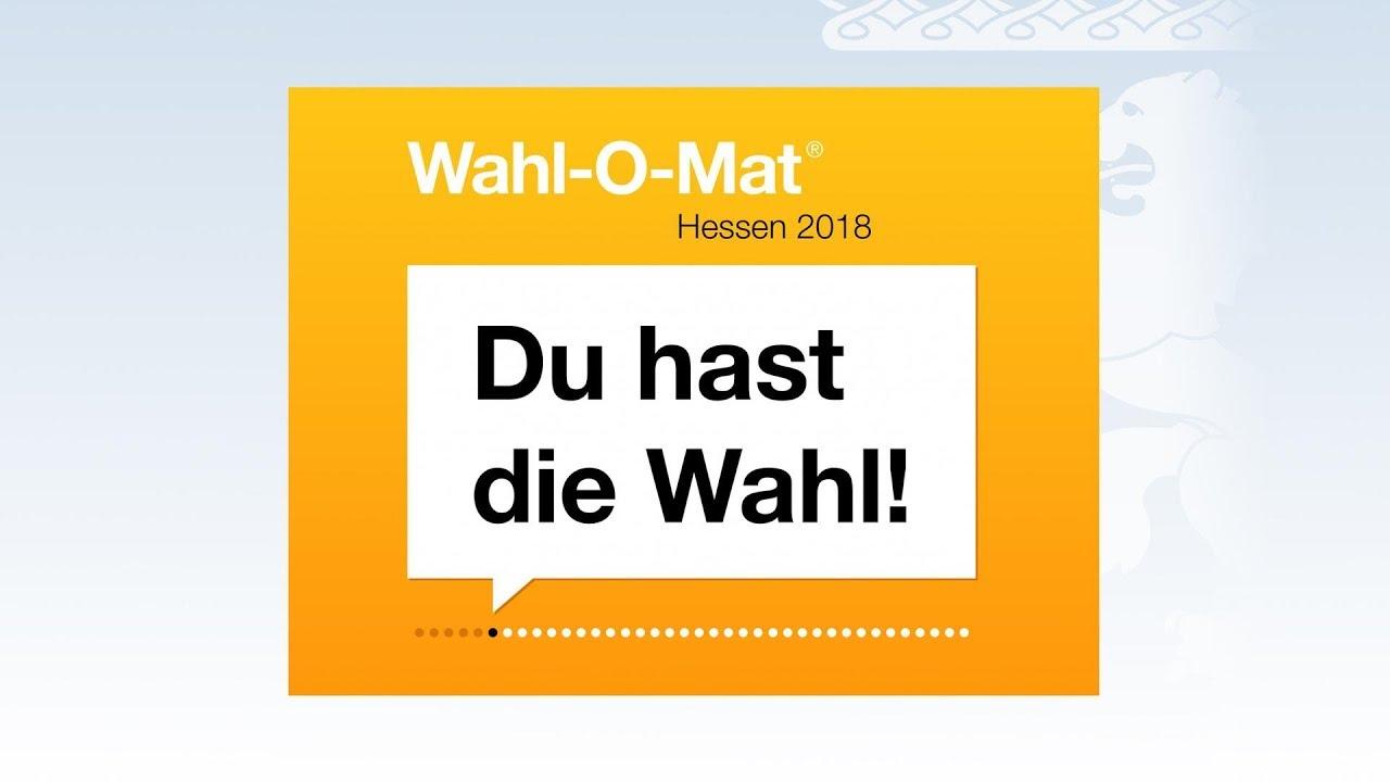 Wahl O Mat 2021 Hessen