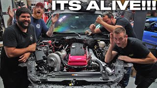 homepage tile video photo for Barra Swapped GT350 First Start!