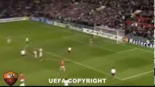Manchester United 7 1 AS Roma - Champions league - all goal
