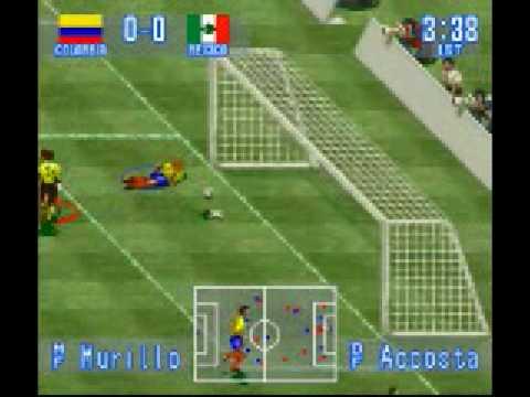 International Superstar Soccer - Gol do Valderrama