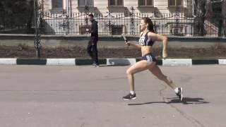 22 этап - Рената Галиулина УлГПУ (вторая команда) - 74 областная эстафета г.Ульяновск 2017г.