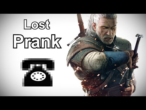 Geralt of Rivia Calls for Ashen-Haired Women - Witcher 3 Prank Call