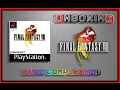 Unboxing:Final Fantasy VIII-PS1(Buon Compleanno a me)