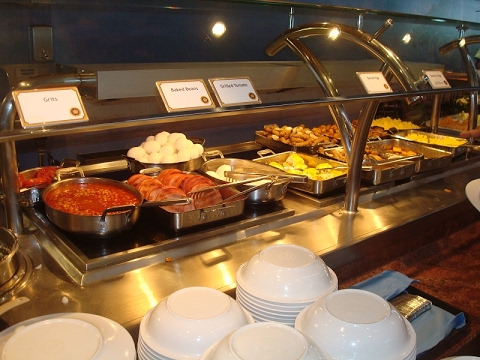 Carnival Magic Lido Buffet Breakfast Youtube