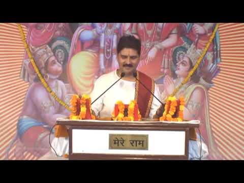 Mere Ram Ki Kripa Se......by Pujya Rajan Jee Maharaj At Rajpur Ram Katha