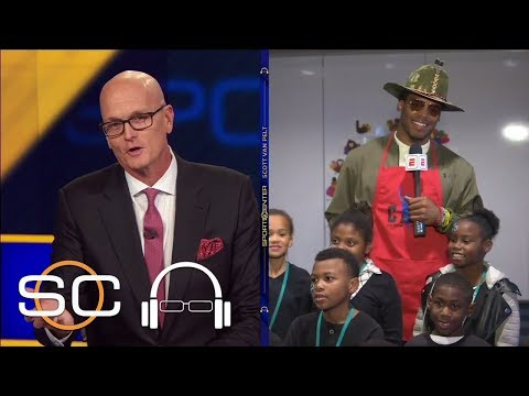 Cam Newton gives back for the holidays   SC with SVP   ESPN