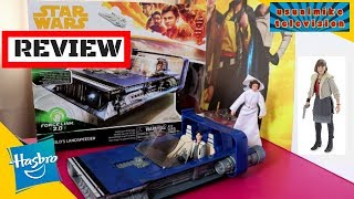 SOLO A STAR WARS STORY HAN SOLO SPEEDER REVIEW UNBOXING AND FORCELINK SOUNDS