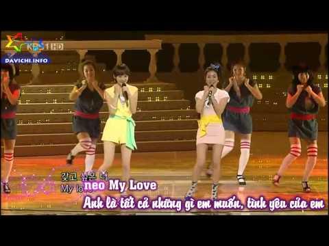 [Vietsub + Kara][Live Perf] My Man - Davichi (다비치)