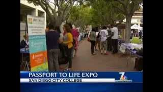 NBC 7 - Passport to Life Expo at San Diego City College