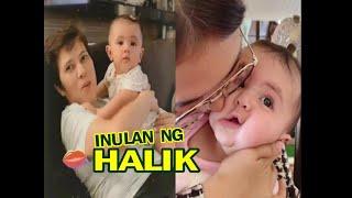 SOFIA ANDRES Baby Zoe PINANGGIGILAN ng Lola at  Mommy