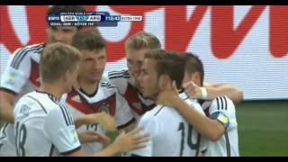 Download Video Mario Götze Germany vs Argentina 2014 FIFA World Cup Goal. MP3 3GP MP4