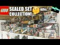 My LEGO Sealed Set Collection Update + Why Do I Keep Them Sealed?