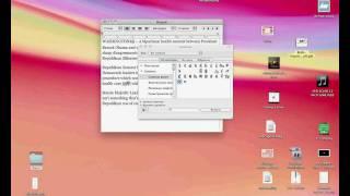 Спец символы в Mac OS X 10.6, виртуальная клавиатура (41/44)