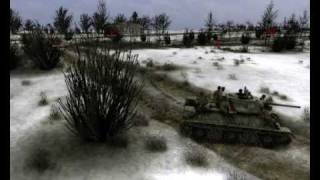 Achtung Panzer - Kharkov 1943. Russian defense.wmv
