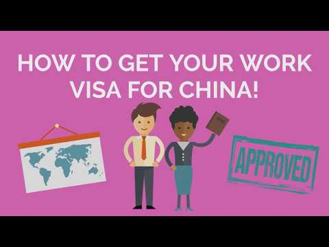 How to get a work visa for China: 2018 Update