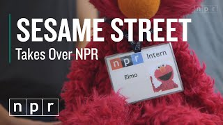 Sesame Street Takes Over NPR | NPR