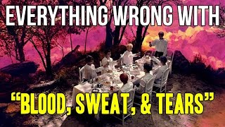 """Video Everything Wrong With BTS - """"Blood Sweat & Tears"""" download MP3, 3GP, MP4, WEBM, AVI, FLV Agustus 2018"""