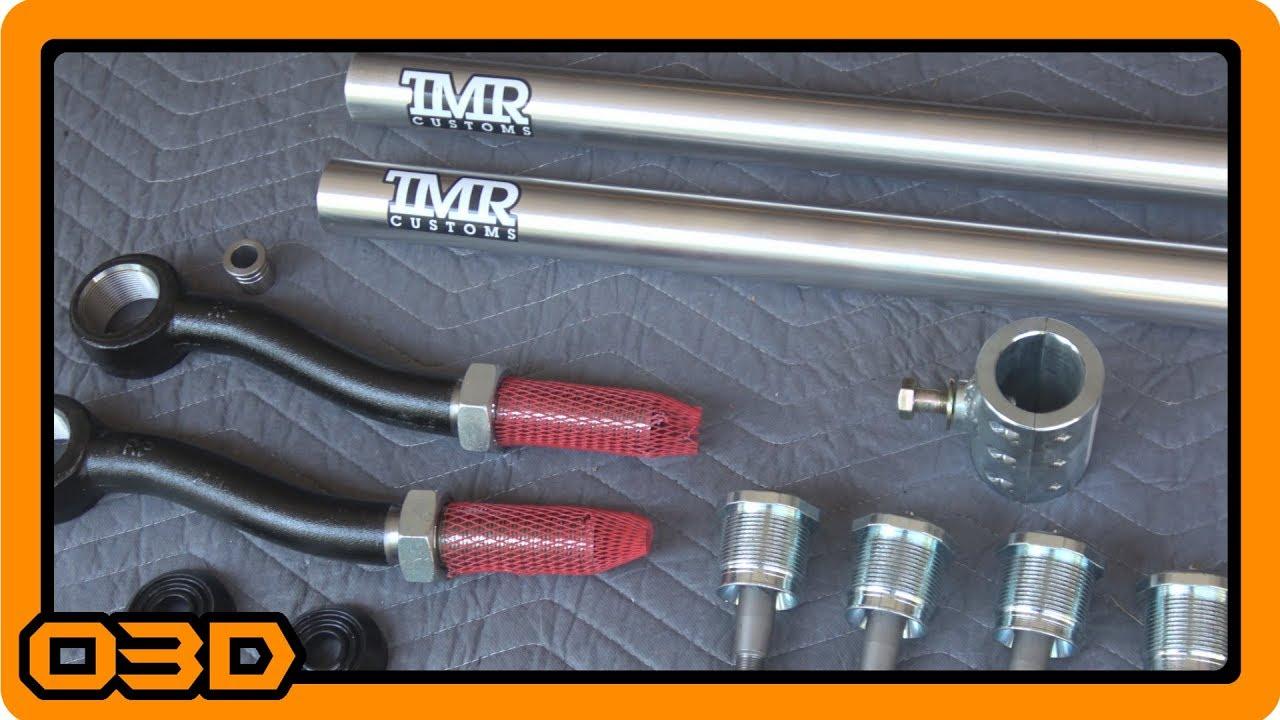 Part Three - JK Steering Upgrades - TMR Customs 2 5 Ton Steering  Installation