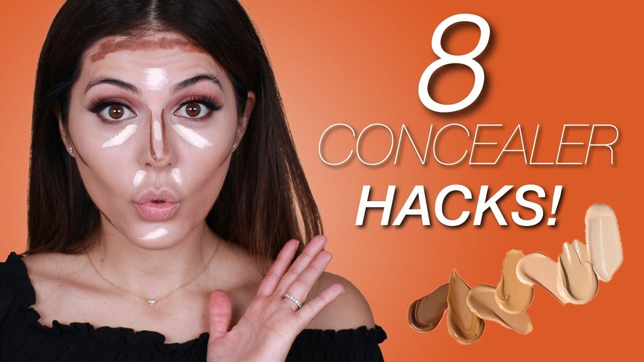 8 Concealer Hacks   Sona Gasparian - YouTube