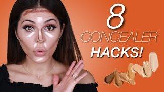 8 Concealer Hacks | Sona Gasparian