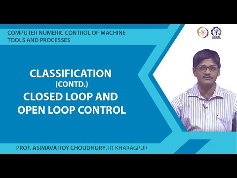 Classification Cotd. : Closed loop and open loop control