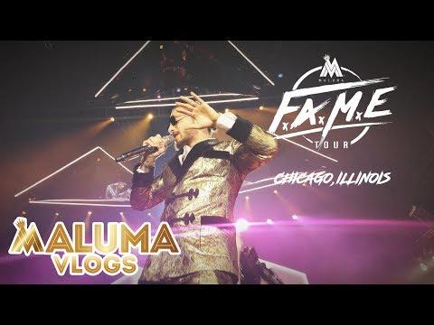 #20 Concierto Maluma en Chicago, Illinois | MalumaVlogs
