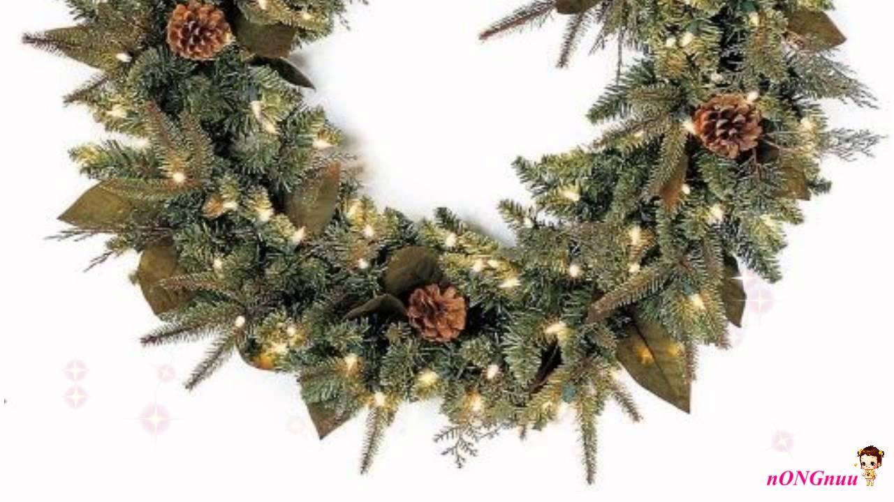 GKI Bethlehem Lighting Pre Lit 30 InchChristmas Wreath