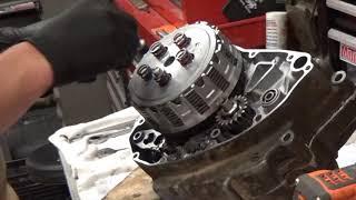 KX250F Bottom End Rebuild | Time Lapse Rebuild