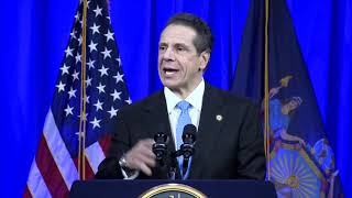 N.Y. Gov. Andrew Cuomo: Oath of Office and Inaugural Address (2019)