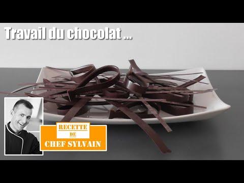 Decor chocolat - Le travail du chocolat par Chef Sylvain