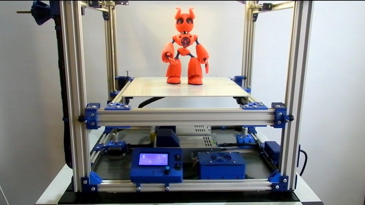 3д принтер своими руками видео